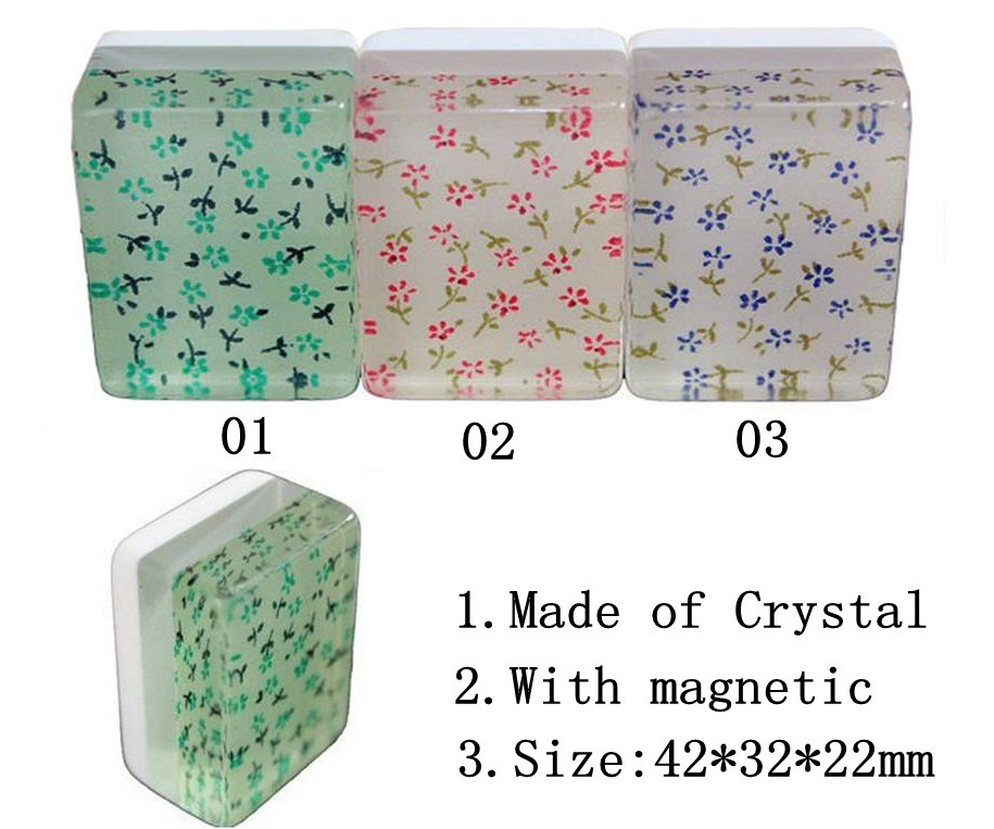 Crystal Mahjong Tiles